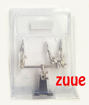 Model Hobby Parts Airbrush & Spray Paint Gun Booth Holder Stand Clips
