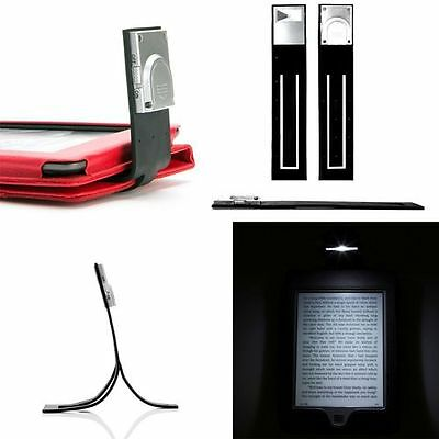 BLACK SLIM LED READING LIGHT FOR Amazon Kindle with Paperwhite, Touch, Kindle 4
