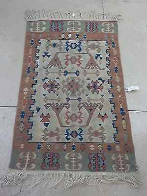 Vintage - Turkish Kilim Rug -Late 19Th Century Early 20Th