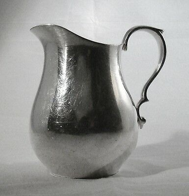"ANTIQUE REED & BARTON SILVERPLATED 4 1/2"" CREAMER PATTERN 966"