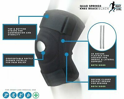 Knee Neoprene Patella stabilising Brace Knee Belt Support Adjustable Strap