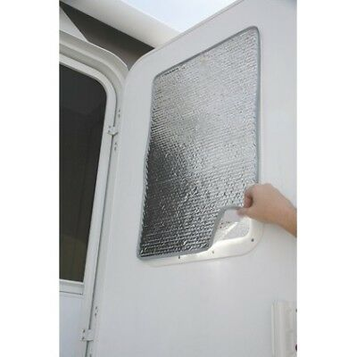 Camco 45167 Reflective Door Window Cover 16 Inch x 24 Inch RV Parts