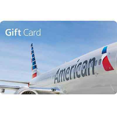 American Airlines Gift Card - $100 - Fast Email delivery