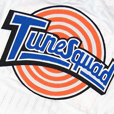 BUGS BUNNY #1 TUNE SQUAD SPACE JAM MOVIE BASKETBALL JERSEY SEWN  NEW ANY SIZE