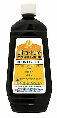 Lamplight 60009 Clear Ultra-pure Lamp Oil, 32-Ounce , New, Free Shipping