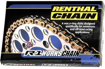 Renthal 520 R1 Gold Race Chain - 120 Links (GOLD) Chain R1-520-120 80-1916 C128