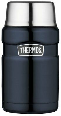 Thermos Stainless King 24-Ounce Food Jar, Midnight Blue , New, Free Shipping