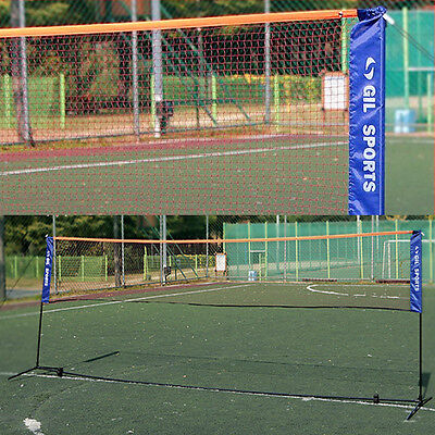 Multi Purpose Portable Badminton Net 5.1M, Volleyball Foot Volleyball Tennis