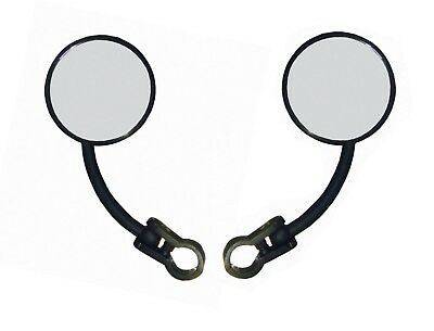 New Mobility Disability Scooter Mirrors - Universal Handlebar Fitting Pair