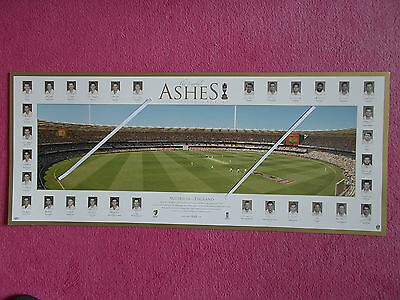 Cricket Print Of The Ashes 2006-7 In Australia Limited Edition (Limited Edition)