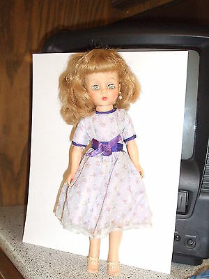 """Vintage Eegee Little Debutante 10"""" fashion doll very good condition free ship"""