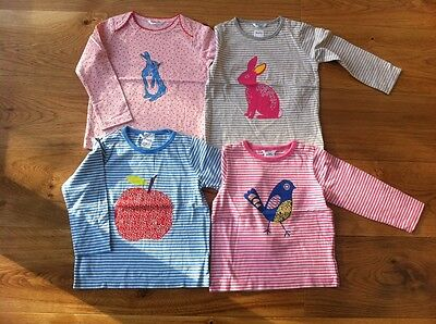 Baby Girls Ex Mini Boden Top Tshirt 0 3 6 12 18 24 2 3 4 Rabbit