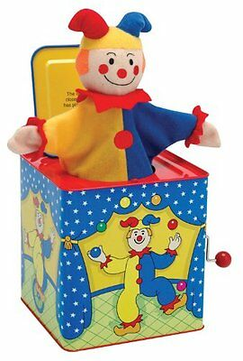 Schylling Jack-In-The-Box , New, Free Shipping