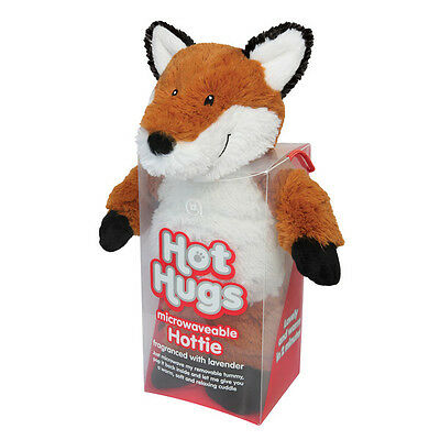 Aroma Home Hot Hugs Hottie FOX Soft Toy With Lavender Scented Microwavable Tummy