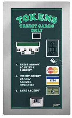 American Changer AC2007 Credit Card Token Machine Rear Load