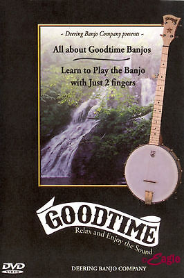 Banjo DVD Learn to Play Banjo with Just 2 Fingers Deering DVD