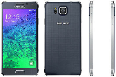 32 GB Samsung Galaxy Alpha G850F / LTE / Unlocked Smart Phone / Black