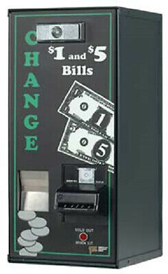 American Changer AC500 1000 Quarter Change Machine Bill Changer Single Hopper