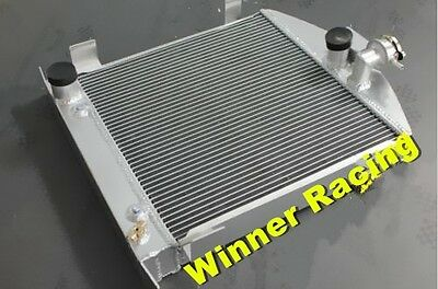 "21.5"" aluminum radiator for Ford hot rod chopped W/Ford 302 V8 engine 1928-1932"
