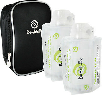 NEW Bambinoz Gel Pad Baby Bottle Warmer Pack plus additional Gel Pad