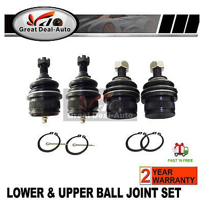Upper & Lower Ball Joints Kit Ford NA-NL & EA-EF EL Fairlane Falcon Fairmont LTD