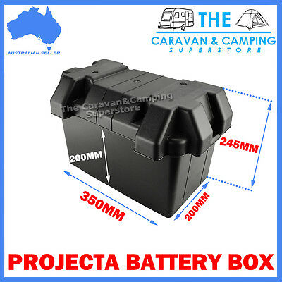 Battery Box To Suit N70 Size Batteries *acid Proof*- Agm Deep Cycle Dual Battery