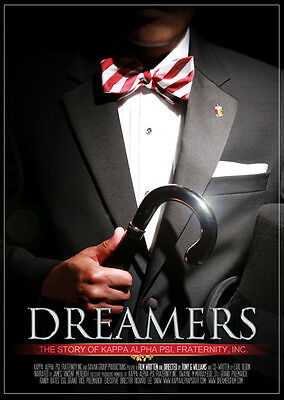 """""""DREAMERS - The Story Of Kappa Alpha Psi"""" Film (DVD Autographed by the Director)"""