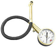 Accugage Tire Pressure Gauge with Hose 0-60 psi in 1/4 lb. Incr. RA60X 15-0255