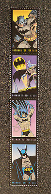 2014USA  #4932-4935   Forever - Batman Strip of 4 - Mint NH comic postage