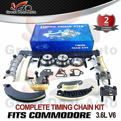 Timing Chain Kit & Gears Fit For Holden Commodore Vz Ve Vf V6 3.6L Greatdeal