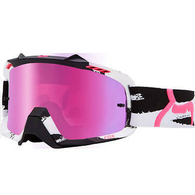 Fox Ladies Mx Gear 2015 AIRSPC Marz Pink Spark Motocross Bike BMX Womens Goggles