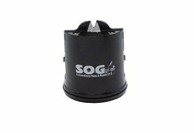 SOG Specialty Knives and Tools SH-02 Countertop Sharpener with Suction Cup , New