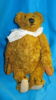 antique Teddy bear with humped back - vintage