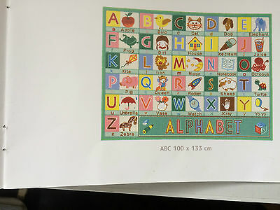 kids large size abc playmat 133cmx100cm
