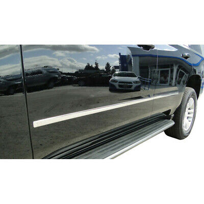 2015-2017 Chevy Suburban Chrome Factory Style Body Side Molding (4 PC)