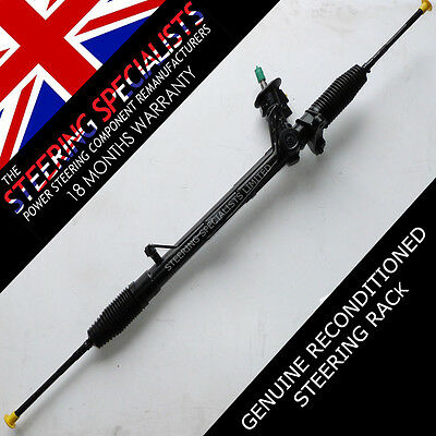Audi S3 1996 to 2003 Genuine Reconditioned Power Steering Rack M14 Tie Arms