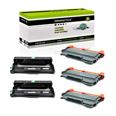 3*TN450 Toner + 2*DR420 Drum For Brother DCP-7065DN MFC-7360N 7460DN MFC-7860DW