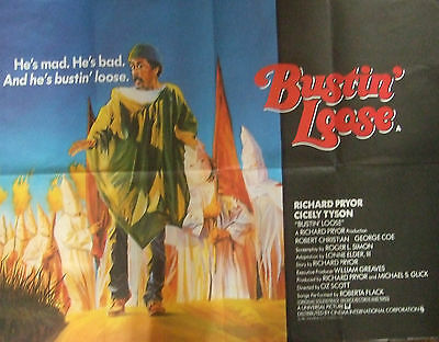 Richard Pryor  BUSTIN' LOOSE(1981) Original movie poster