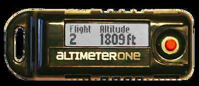 Jolly Logic AltimeterOne Rev 2 - Rechargeable Altimeter Reports Peak Altitude