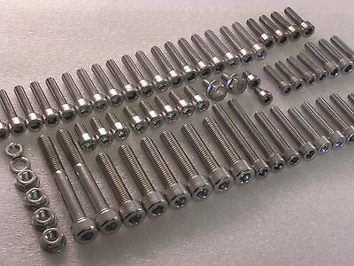 Honda CX500 1978-81 Engine Covers 72x Stainless Allen Bolts Socket Capscrews Kit