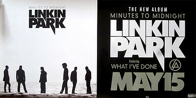 Linkin Park Minutes To Midnight RARE promo poster '07