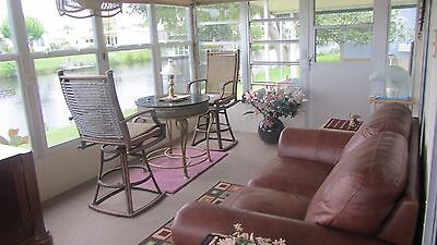 FURNISHED WATER FRONT HOME WITH IT'S OWN DOCK