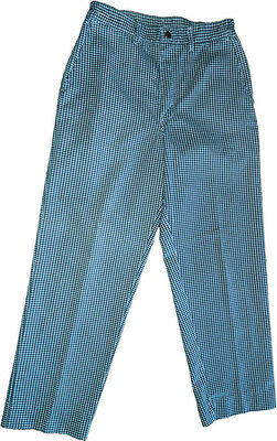 Chef Designs PST Chef Pants w/ Snap-Grip Closure (65% Polyester/35% Cotton)