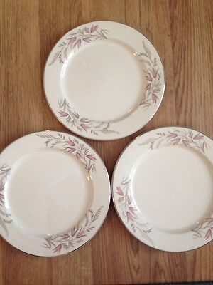 """Knowles Park Lane 10"""" Dinner Plate Lot of 3"""