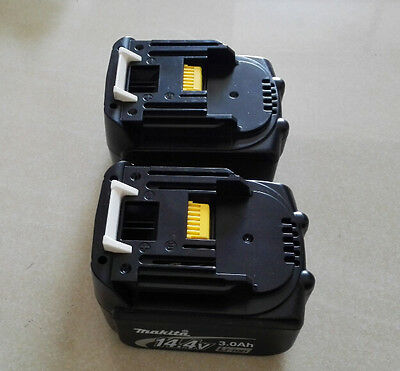 2 x BL1430 Makita 14.4v 3.0Ah Li Ion Rechargeable Battery for Cordless Drill NEW
