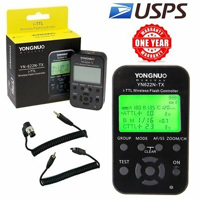Yongnuo YN-622N-TX LCD I-TTL Wireless Flash Transmitter Controller for Nikon US
