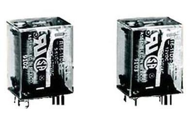 Nte Electronics R16-11D3-24 Power Relay Dpdt 24Vdc 3A Plug In