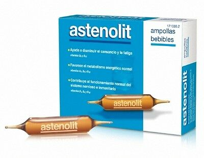 ASTENOLIT 12 AMPOLLAS BEBIBLES DE 10ml 171035.2