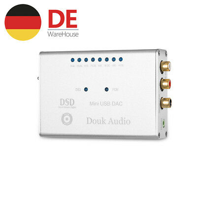 Douk Audio DSD1796 XMOS U8 OTG 384K/32bit USB DAC HiFi Headphone Amp Soundkarte