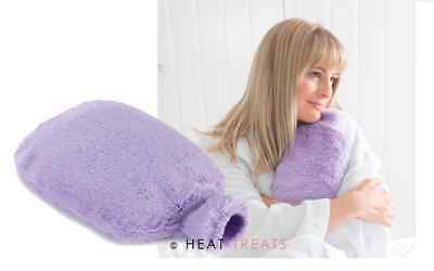 Intelex Cozy Body Bottle LILAC Fully Microwavable Lavender Faux Fur Body Warmer